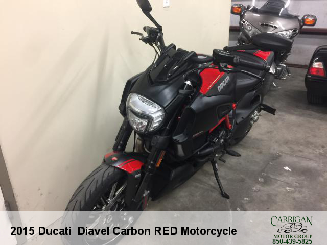 Vehicle Inquiry 2015 Ducati Diavel Carbon Red Motorcycle Carrigan